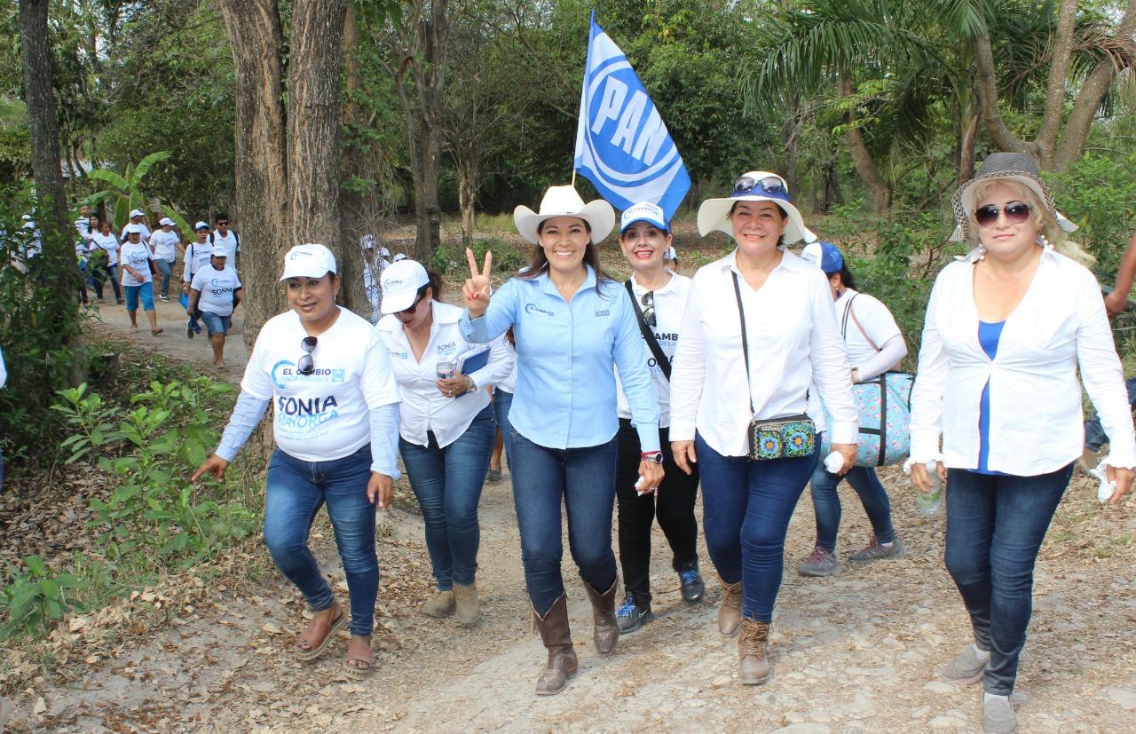 Zona Cañera Garantiza su Voto a Sonia Mayorga
