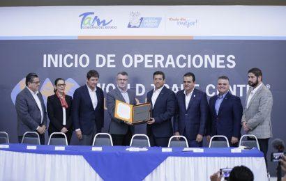 Pone en marcha Gobernador operaciones WTC en Nuevo Laredo