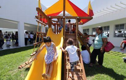 Entrega Gobernador Centro de Bienestar y Paz y supervisa Unidos por Tamaulipas en Matamoros