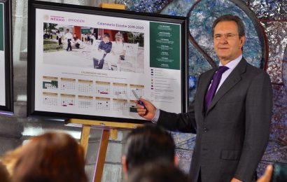 Calendario escolar 2019-2020 abarca 190 días efectivos de clases