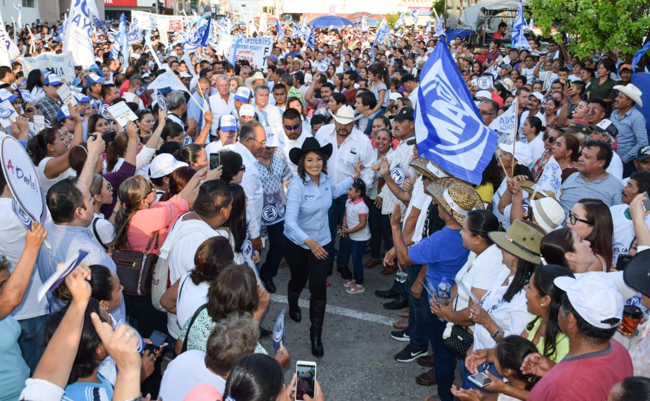 Cierre de Campaña Con Sabor a Triunfo tiene Sonia Mayorga