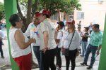 Yahleel  Abdala Acompaña a Bruno Díaz Candidato a la Diputación Local en la colonia Jesús Yurem