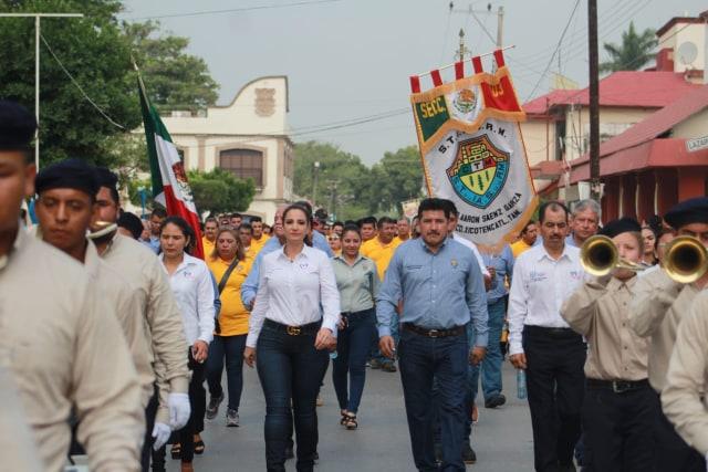 Conmemoran Día del Trabajo en Xicoténcatl