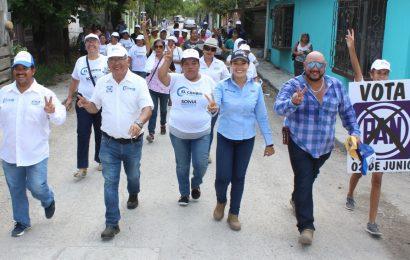 Sonia Mayorga Legislará para Proveer Mayor Infraestructura al XVII Distrito