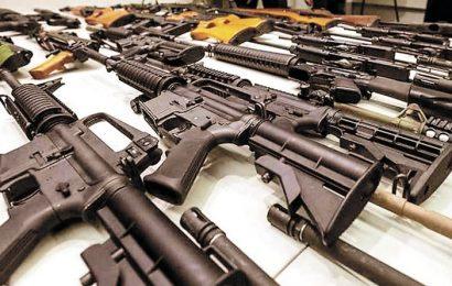 Federales atrapan a traficante de armas en Tamaulipas