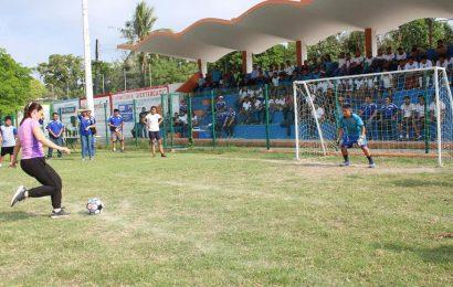 Inaugura Noemy González Torneo Inter TeleSecundarias