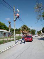 Brinda Municipio Mantenimiento al Alumbrado Público