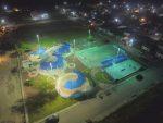 Municipio Mejora Iluminación al Parque de Bienestar