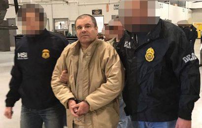 Dan Cadena Perpetua a El Chapo Guzmán en EU