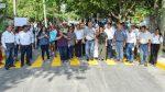 Inaugura gobierno de El Mante importantes obras en la Vicente Guerrero