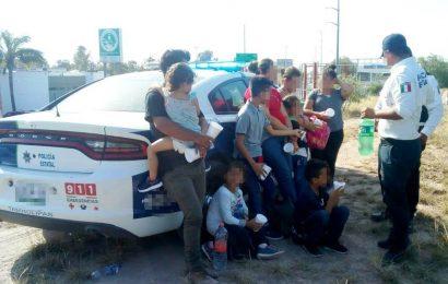 Rescatan a Hondureños, Entre Ellos 5 Menores