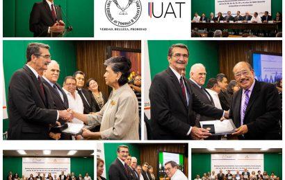 Reconoce UAT trayectoria de sus docentes en el Campus Victoria