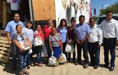 Lleva Gobierno del Estado y DIF Tamaulipas apoyos a las familias de pescadores