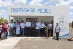 Memo Verlage Inaugura Dispensario Médico en el ejido Ruiz Cortinez
