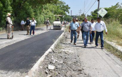 Alcalde Supervisa Avance en Obras