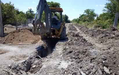Gobierno de Xicoténcatl Pone Solución a Problemática de Drenaje