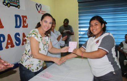 Gestiona Noemy González Descuento del 50% en Pasaje a Estudiantes