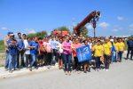 Presidenta Pone en Marcha Construcción Alumbrado Público en la Colonia Presidencial
