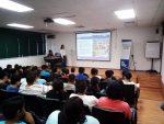 """Imparten plática sobre el programa """"Inversión Joven"""" dirigido a jóvenes emprendedores"""