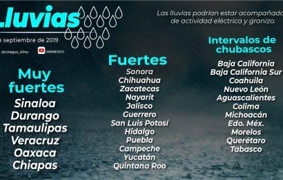 Alerta PC Tamaulipas ante paso de Onda Tropical