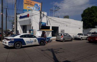 Violento Atraco a sucursal Banamex en Tampico