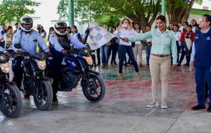 Con Rodada en Motos Municipio Busca Concientizar el Uso de Casco de Seguridad