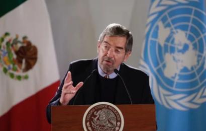 México reitera claro y firme rechazo a embargo de EUA a Cuba