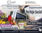 Impartirá UAT en línea diplomados en Peritaje Social y Psiconutrición