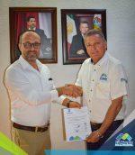 Entregan Nombramiento a Nuevo Director de Deportes en Mante