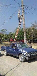 Instruye Alcaldesa a Revisar y Reparar Luminarias en el Ejido Vicente Guerrero