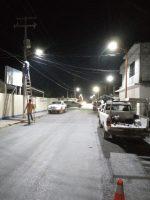 Instalan Alumbrado Público en calle José de Escandón