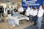 Entrega gobierno de Mateo Vázquez insumos al Hospital General