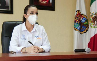 Alcaldesa Noemy González Participa en seminario web