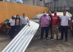 Dona Comité Municipal Campesino Láminas para Albergue