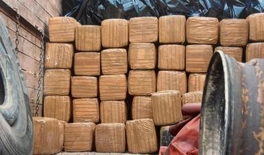 Sentencian a 3 por transporta más de una tonelada de marihuana en la carretera Saltillo-Monterrey