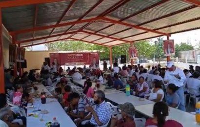 Aztecas, Tantoyuquita y Nueva Apolonia Respaldan Proyecto de Gobierno de Patty Chio, La Cuarta Transformación Va