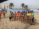 Acaparan Cuerudas Primer y Tercer Lugar en Estatal de Playa