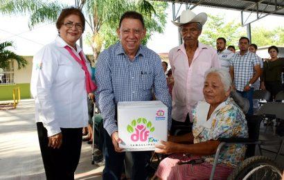 Continúa Gobierno Municipal y Sistema DIF Con Entrega de Despensas