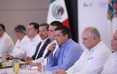 Construyen Gobernador y Alcaldes Electos visión Compartida para Tamaulipas