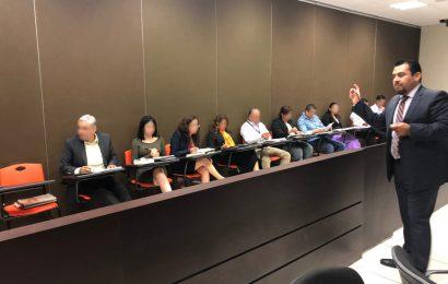 Participan Agentes del Ministerio Público en el Taller Técnicas de Litigación Impartido por el INCATEP
