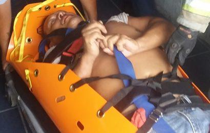 Albañil sufre descarga eléctrica en Matamoros