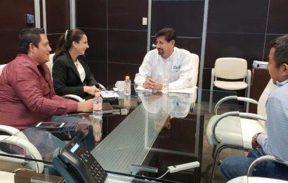 Gestiona Alcaldesa Apoyos Ante Secretaria de Obras Públicas del Estado para Xicoténcatl