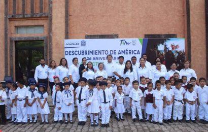Conmemora González el 526 Aniversario del Descubrimiento de América