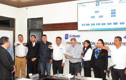 Celebran Primera Sesión de Cabildo Ayuntamiento 2018-2021 y Toman Protesta a Primeros Funcionarios Municipales.