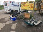 Choca Repartidor de Tortillas con Auto