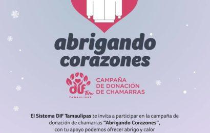 DIF González se Suma a la Campaña «Abrigando Corazones»
