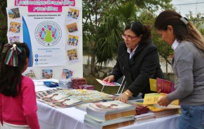 Realiza DIF Tamaulipas Feria de los Derechos de las Niñas, Niños y Adolescentes