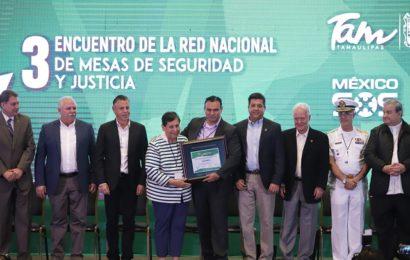 Se Reúne en Tamaulipas la Red Nacional de Mesas de Seguridad y Justicia
