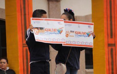 Noemy González Pone en Marcha Campaña de Igualdad de Género