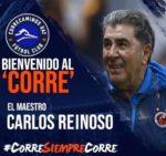 Carlos Reinoso es el Nuevo DT del club de Futbol Correcaminos